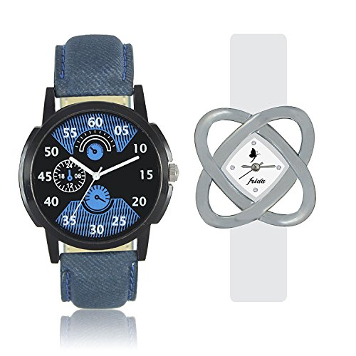 Frida Analog Black Dial Men's @ Womane'sWatch-WCH-FR151521  available at amazon for Rs.269