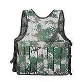 Yosoo 20KG/44lbs Verstellbare Camouflage Gewichtsweste Weight Vest Trainingsweste Training Workout Fitness Sport Jacket - 6