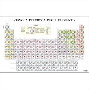 Belletti ms36pl poster scientifico belletti 97x70 cm - Tavola periodica per bambini ...