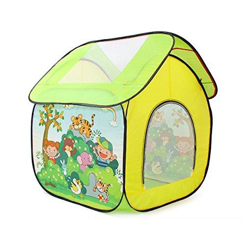 WAZY Enfants Tente Maison De Jeu Intérieure Maison Garçon Jouet Maison Fille Princesse Chambre Bébé Océan Piscine à Balles,A