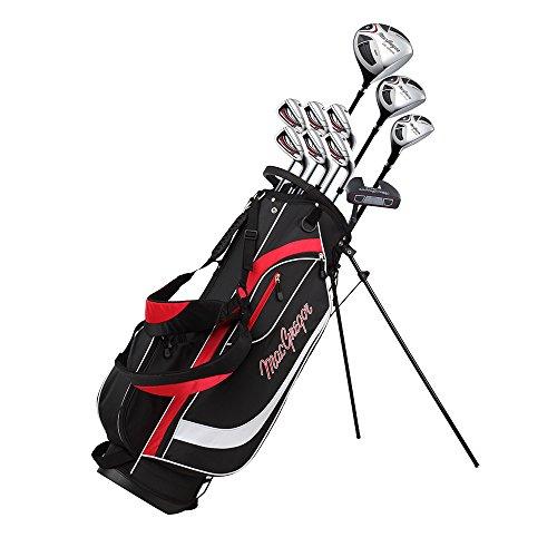 MacGregor CG2000 Jeu de Clubs de Golf pour Homme avec Sac Trépied- en Acier, pour droitier
