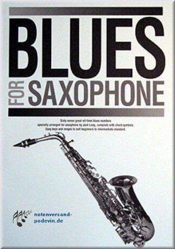 Long Blue Willow (Blues for Saxophone - Saxophon Noten [Musiknoten])