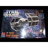 #8275 AMT/ertl Star Wars TIE Fighter Flight Display Plastic Model Kit,Needs Assembly