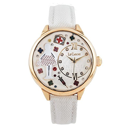 orologio-donna-le-carose-workers-mestieri-medico-infermiera-pink-mood-96q1efm