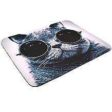Mauspad mit Katzenmotiv für Optische Mäuse