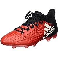 new product 4cfe3 64205 Adidas X 16.2 FG, Scarpe da Calcio Uomo, Rosso (RedFtwr White