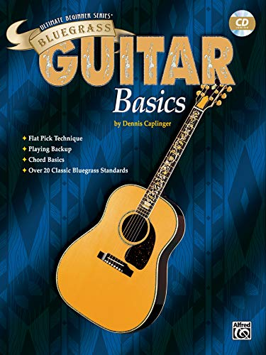 Ultimate Beginner Bluegrass Guitar Basics: Book & CD