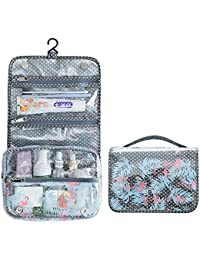 Travel Toiletry Bag PVC Organizer Cosmetic Case Makeup Pretty Bag Hanging
