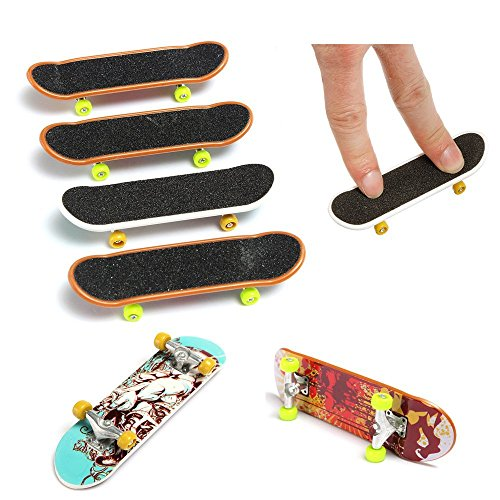 5x Pack Finger Board Deck Truck Skateboard Boy Child Spielzeug Kinder Griffbretter