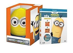 Minions Collection: Edizione Esclusiva con Lampada Minion (3 Blu-Ray)