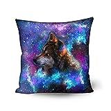 nopersonality Multicolor Sofá Decoración del hogar Galaxy Star manta funda de almohada fundas...