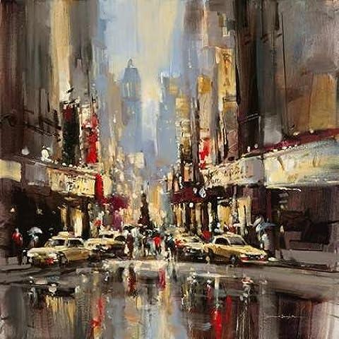 City Impression by Brent Heighton-Stampa su tela,