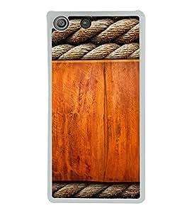 FUSON Designer Back Case Cover for Sony Xperia M5 Dual :: Sony Xperia M5 E5633 E5643 E5663 (Thread type pattern design Nice pattern design Wooden pattern design Colorful pattern design Nice pattern design )
