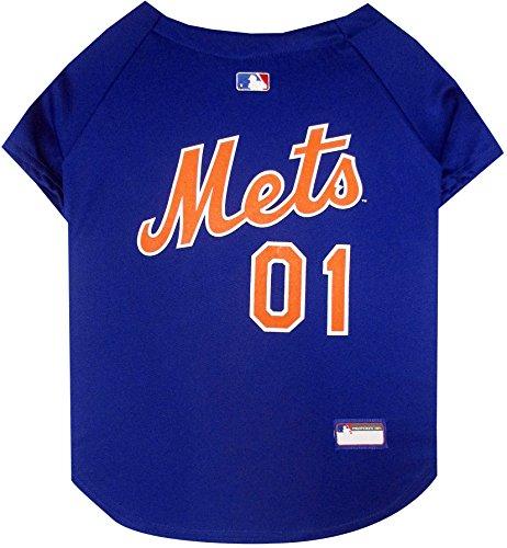 Pets First MLB Pet Jersey.–Baseball Hund Jersey.–Erhältlich in 29MLB Teams.–Pet Jersey.–Hund Jersey.–MLB Jersey für Hunde.–Pet Shirt.–Hunde Shirt