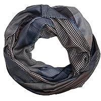 Strisce a quadretti Gentleman Loop sciarpa da uomo sciarpa Art (Acc Accessori)