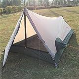 Ultra Leggero Tenda da Campeggio Una Persona Impermeabile Hiking Trekking 3 Stagioni Portatile 1 Posti Tenda