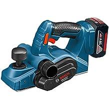 Bosch GHO 18V Li-Ion - Pulidora (18V, Ión de litio, 4 Ah, 2.6 kg) Negro, Azul