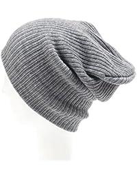 Omiky Damen Häkeln Gestrickte Geflochten Stricken Wollmütze Cap