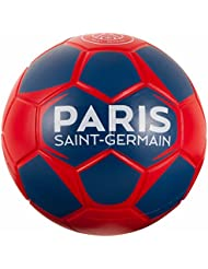 Ballon PSG - Collection officielle PARIS SAINT GERMAIN - Taille 4 - Football Supporter - Ligue 1 - Couleur bleu - Mousse résistante