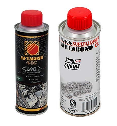 METABOND Kit Motorbehandlung CL für Innenreinigung des Motors Eco Behandlung nanoteking-Öl