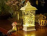 HAPPYMOOD Lampe Zeichenfolge Licht 100LEDs zum Innen und draussen Mauer Auflegen mit Fernbedienung auf Schreibtisch / Tisch, Hochzeit Party Weihnachtsdekoration und Geschenk