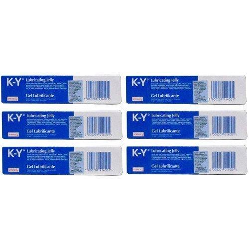 K-Y lubricante - lubricante estéril tubo 82 g - paquete