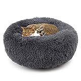Legendog Welpen Haustier Bett Plüsch Katzen Schlafenbett Kleiner Hundebett Kätzchen Winter Bett