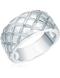 Secret Diamonds Ring 925 Sterlingsilber 3 Diamant 0,03 Ct