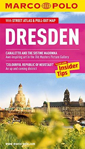 MARCO POLO Reiseführer Dresden, englisch: Reisen mit Insider-Tipps. Mit EXTRA Faltkarte & Cityatlas (Wunder Räder)