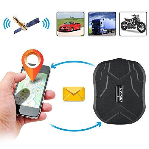 TKSTAR GPS Tracker 5 Monate Standby-Zeit Reale Positionierung Mini GPS für Auto / Motorrad Wasserdicht Magnet Stark GSM Genauigkeit innerhalb von 5 Meter Diebstahlsicherung, APP kostenlos TK905B