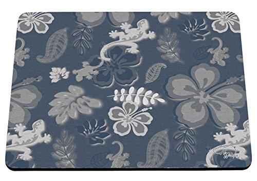 hippowarehouse Sommer Surf Print bedruckt Mauspad Zubehör Schwarz Gummi Boden 240mm x 190mm x 60mm, blau, (Party Supplies Sydney)