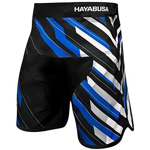Hayabusa Metaru Charged Fight Shorts Blue -
