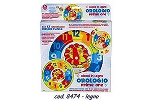 Rstoys - Ronchi Supe- Reloj de Madera Prime, Multicolor, 3.ST8474