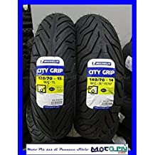 PAR neumáticos Tren de Michelin City Grip 120/70 – 15 140/70 –