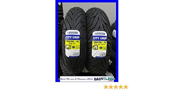 Paar Reifen Michelin City Grip 120 70 15 140 70 14 Yamaha Xmax X Max 250 Auto