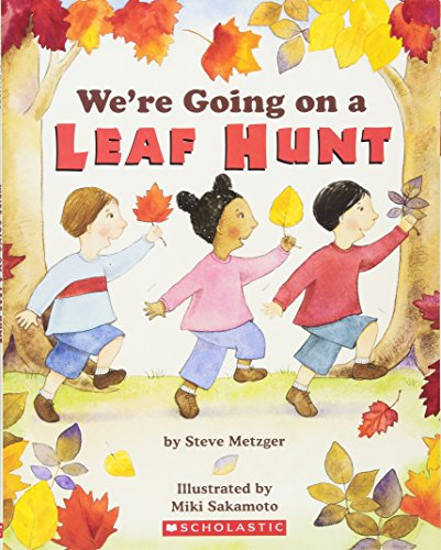 We're Going On A Leaf Hunt por Steve Metzger