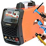 50A Plasma CUTTER/200A HF TIG/MMA DC Inverter Welder MULTIPROCESS Welding Machine 2T/4T UP/Down-Slope + Accessories