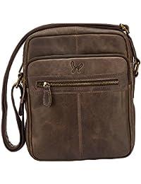 Rohit Bal Leather Brown Messenger Bag (9950)
