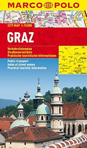 Preisvergleich Produktbild MARCO POLO Cityplan Graz 1:15 000 (MARCO POLO Citypläne)