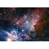 1art1 73131 Der Weltraum - Sternengeburt Im Carinanebel, 3-Teilig Fototapete Poster-Tapete 360 x 250 cm