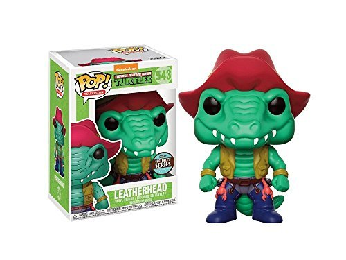 (Figur POP. Teenage Mutant Ninja Turtles LEATHERHEAD Specialty Series Exclusive)