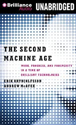 The Second Machine Age: Work, Progress, and Prosperity in a Time of Brilliant Technologies by Erik Brynjolfsson (2014-01-20)