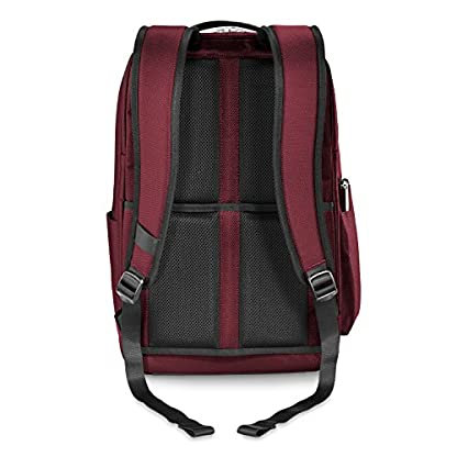 """51fOQq8MlFL. SS416  - Briggs & Riley Transcend Cargo Backpack, 17"""", 24.5 litres, Slate Mochila tipo casual, 46 cm, liters, Gris (Slate)"""