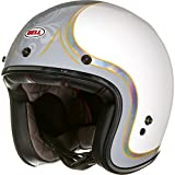 Bell Motorradhelme Street 2015 Custom 500 SE Adult Helm, Headcase Cue Ball, XL