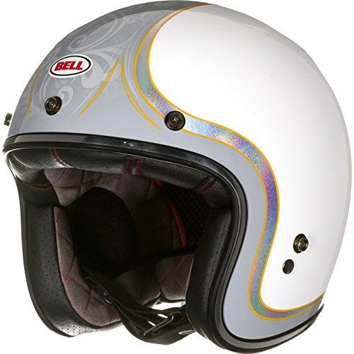 Bell Helmets Street 2015 Custom 500 SE Casco Adulto, color Blanco (Headcase Cue Ball), talla XXL