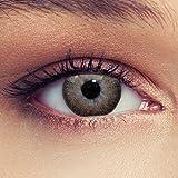 Lenti a contatto colorate nocciola marrone tenui non vistoso colores senza diottrie + gratis caso di lenti Modello 'True Hazel'