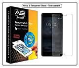 Annant Entp™ Full Body Tempered Glass Screen Protector [ Full Body Edge to Edge ] [ Anti Scratch ] [ 2.5D Round Edge] [HD View] For Nokia 3