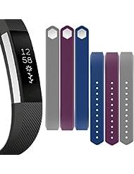 Bepack Fitbit Alta HR Correa de Reemplazo,TPU Soft Silicona Adjustable Sport Strap Pulsera para Fitbit Alta Heart Rate