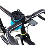 Fahrrad-Fototasche Road Runner Bags Small Point N Shooter türkis Lenkertasche