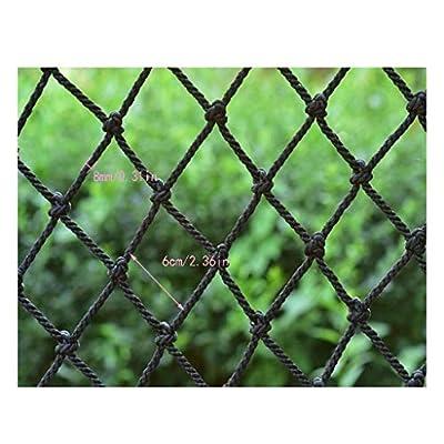 Kids Safety Railnet , Balcony Anti-fall Net Children's Fence Net Cat Net Stair Protection Net Safety Net Decoration Net Kindergarten Playground Stadium Multi-purpose Black ( Size : 6x5m )